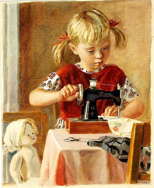 Картинки за шитьем