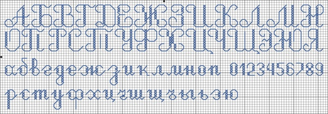 просили схему алфавита,