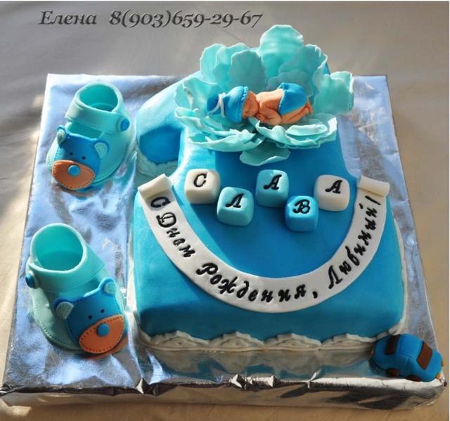 оригинальный торт на годик фото