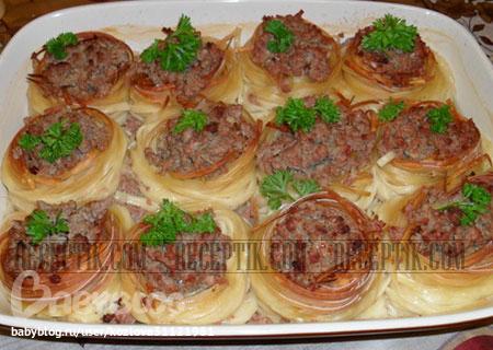 Макароны гнезда с сыром рецепты с фото