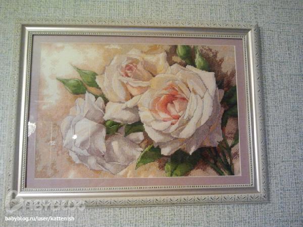 """""""Белые розы"""" от Дим - оформила"""