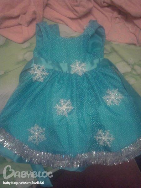 Фото снежинок на платье