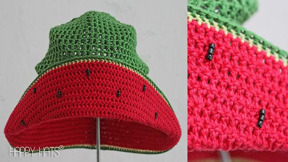 Шляпа арбуза своими руками 92