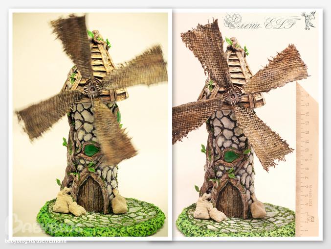 Домики эльфов своими руками из природных материалов 79