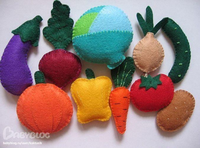 Из чего сделать овощи и фрукты своими руками из 99