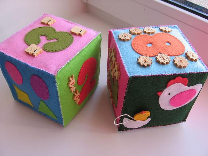 Кубики из фетра своими руками выкройки