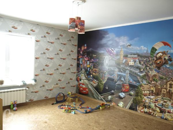 Дизайн комнаты 13 м2