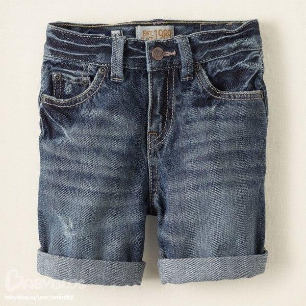 Модные шорты из джинс 8