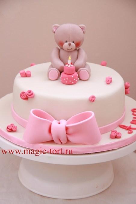 Торты с мишками для девочки