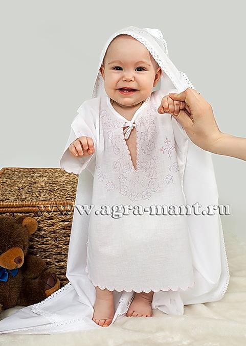 Крестильные сорочки детям фото