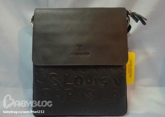 5). Мужская сумка через плечо Calvin Klein Материал: Натуральная кожа.  Сумка закрывается молнию, сверху клапан Цена...