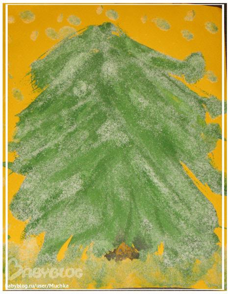Рисуем деревья с узорами