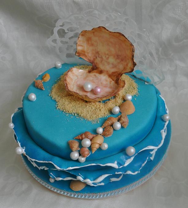Как на торте сделать песок 114