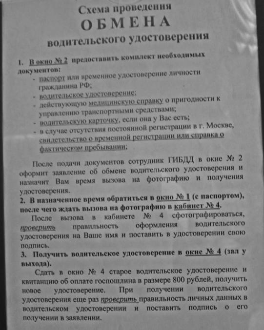 Где сделать водительскую справку Москва Свиблово