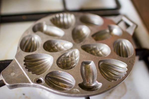 Рецепт приготовления печенья орешки и грибочки