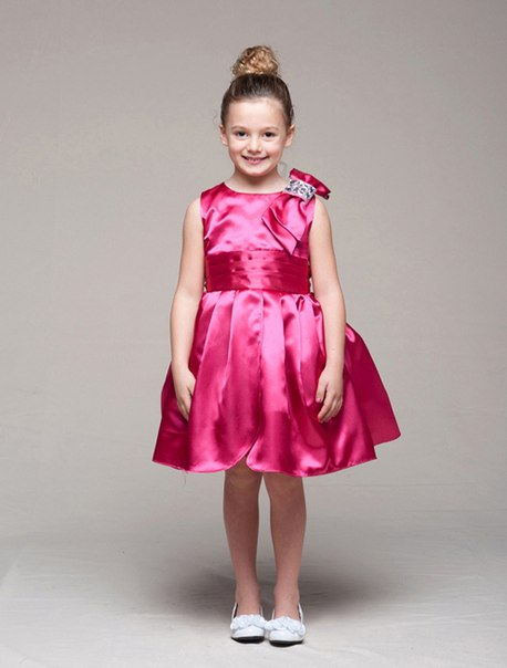 Платье девочки цветочками