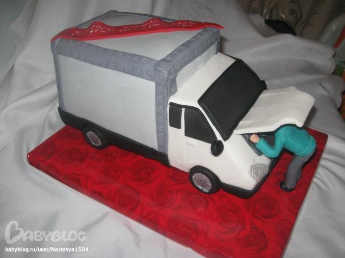 торт газель фото