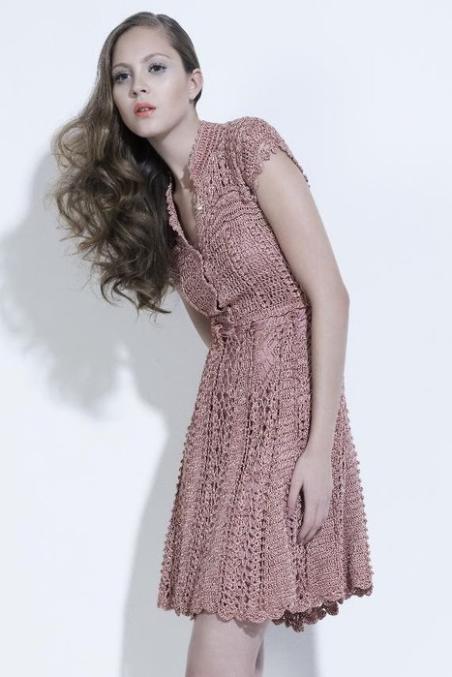 Филейные платья на осинке
