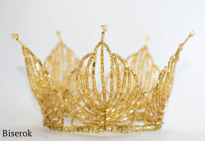 Золотая корона / Разные изделия / Biserok. org