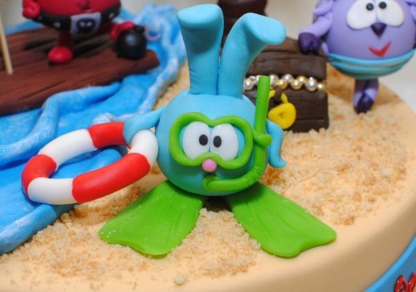 Трёхэтажные торты на день рождения фото 10