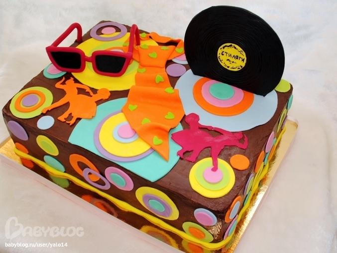 Идеи для тортиков на стиляжную вечеринку фото