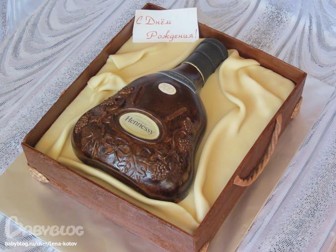 Торты рецепты с фото бутылка