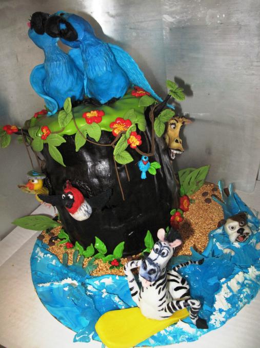 Торт в годик мальчику фото 6