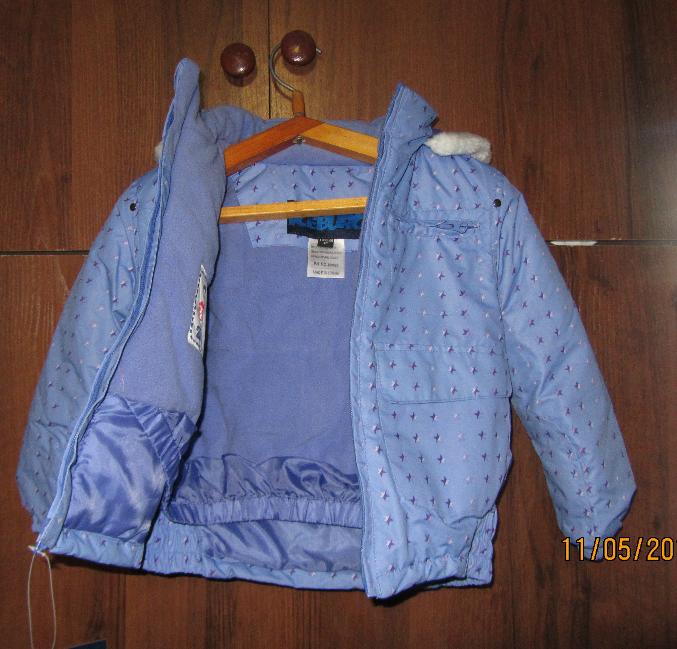 Зимнее женское пальто плащевка с меховым воротником