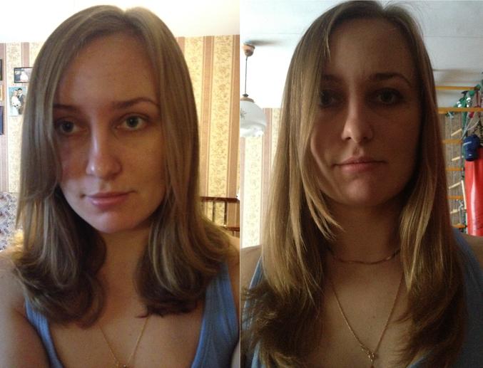 на сколько волосы отрастут за полгода