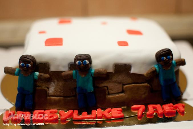 Как сделать торт в Minecraft - YouTube