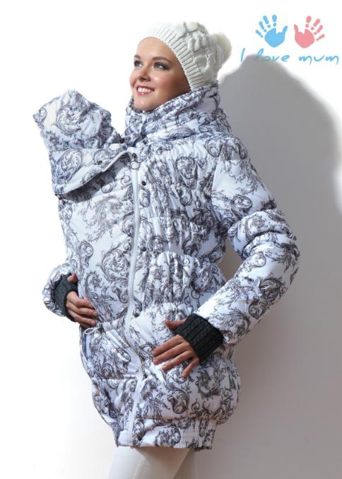 Зимняя слингокуртка i love mum 3-в-1