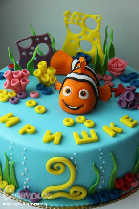 Поиск детские торты фото