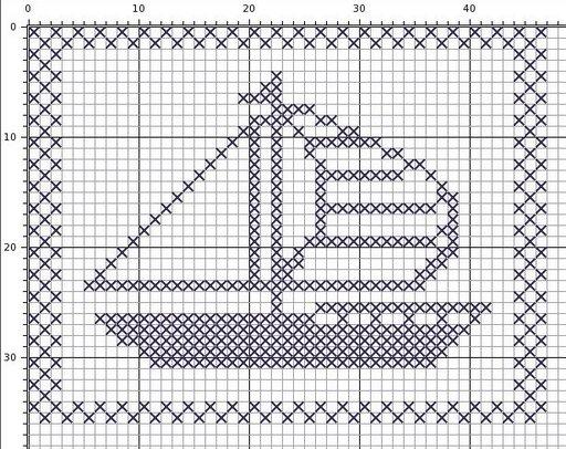 вот еще вариант кораблика
