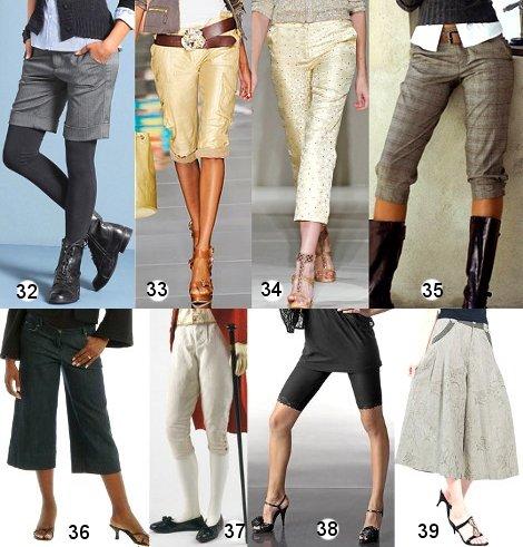 Юбки брюки и бриджи