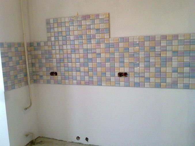 фото фартука для кухни из керамической плитки