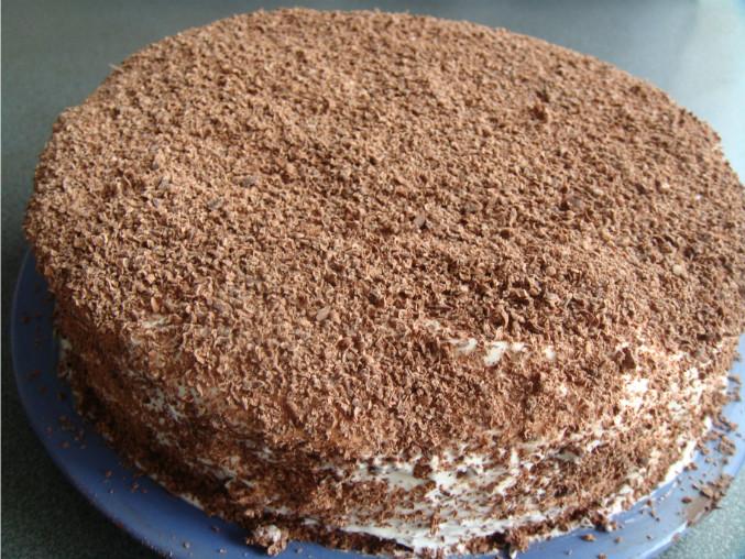 Как сделать торт из крошек от торта