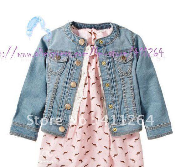 Джинсовая куртка для девочки сшить 356