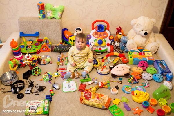 Игрушки для 9 месячного ребенка своими руками
