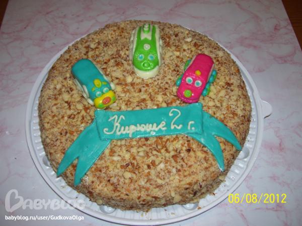 Торт одноярусный свадебный с ягодами фото 3