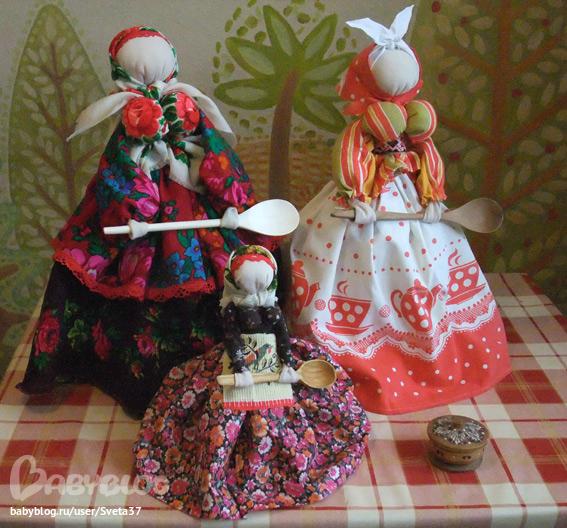 Куклы обереги куклы своими руками