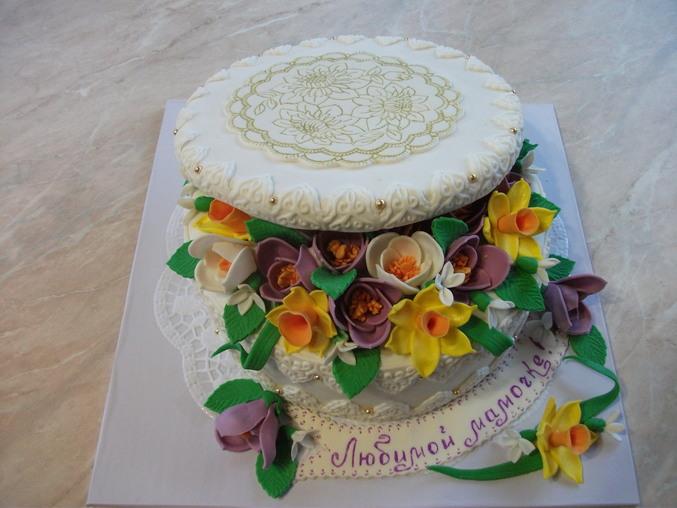 Как сделать торт с крышкой
