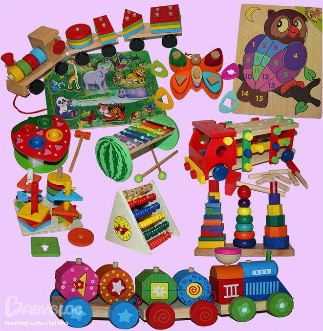 Игрушки в детсад