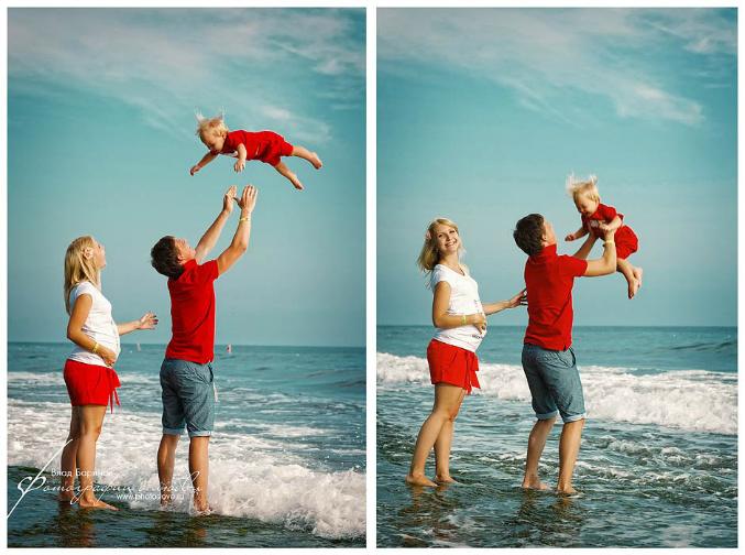 Беременные на морском отдыхе