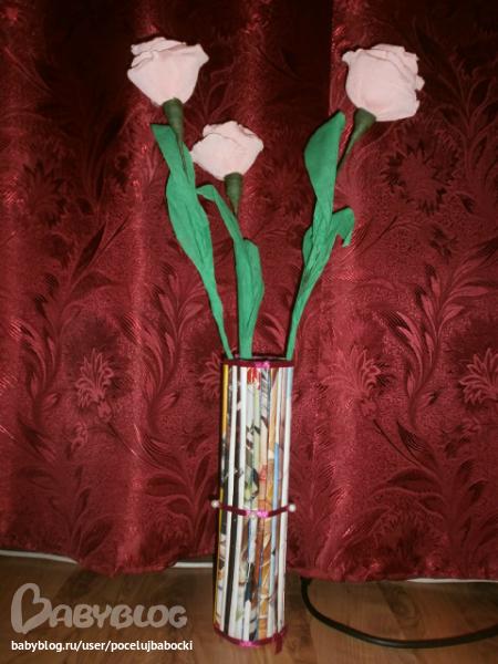 Цветы из бисера.  Клематис.  Мастер класс с пошаговыми фото.