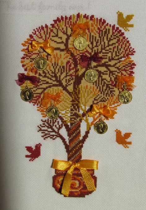 Вышивка крестом денежное дерево схемы