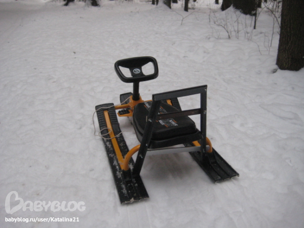 снегокат для двойни екатеринбург