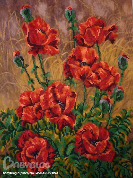 Картины цветов ручной работы.