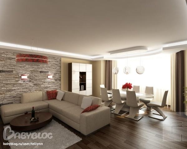 Как подобрать цвет стен в гостиной