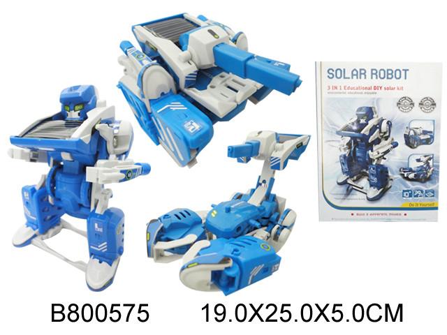 Конструктор-Трансформер на солнечной батарее. poradyisay.
