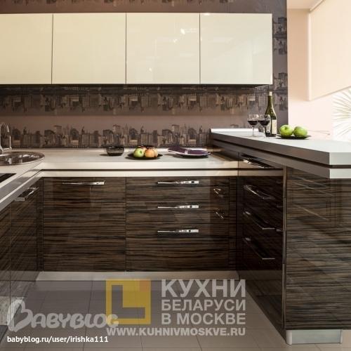 Кухня какие обои дизайн